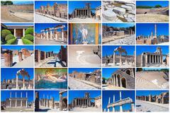 Pompeii - stock illustration