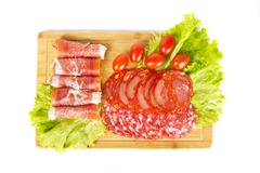 Meat snack Stock Photos