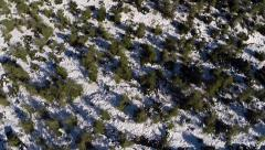 Jerusalem Snowy Mountain Stock Footage