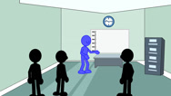 Stock Video Footage of Good Financial Report:  Animation