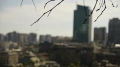 Santiago - Chile (focus movement) Stock Footage