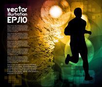 Stock Illustration of Sport illustration