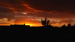 New Mexico Sunset Stock Footage