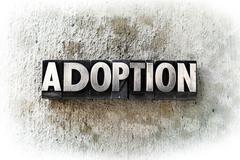 Adoption - stock photo