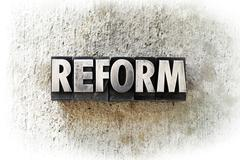 reform - stock photo