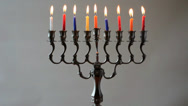 Stock Video Footage of hanukkah 05