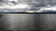 Fjord Ultima Esperanza - Puerto Natales Stock Footage