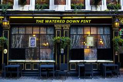 The Watered Down Pint Stock Photos