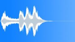 Cartoon vibe suspense - sound effect