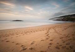 Beach in galicia, spain. Stock Photos