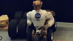 Robonaut Centaur 1 Stock Footage
