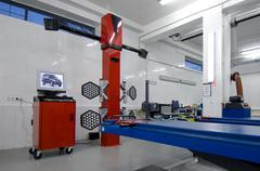 Device for car diagnostics Stock Photos