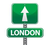 London sign Stock Illustration