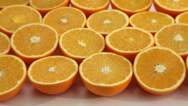 Stock Video Footage of Oranges background