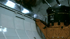 USA Cape Canaveral 022 Stowage, Hold, Load Room of Space Shuttle - stock footage
