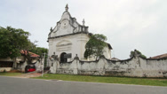 Stock Video Footage of White church, Galle