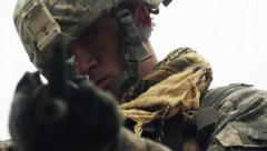 American Soldier Stock Footage