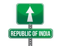 Tienviitan Intiaan kuvitus design yli valkoista taustaa Piirros