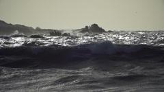 Atlantic Ocean France 4 Stock Footage