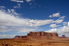 Arizona monument valley Stock Photos