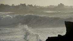 Atlantic Ocean France 2 Stock Footage