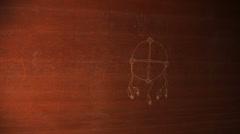 native spirituality 2 spiritual religon - stock footage