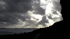 Atlantic Ocean France 3 Stock Footage
