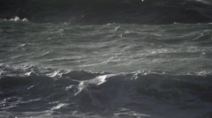 Waves in France Stock Footage