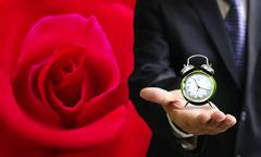 Stock Photo of time to love
