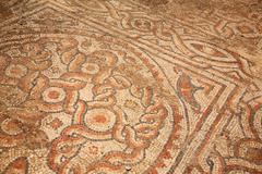 Mosiac tiles on the floor ephesus Stock Photos