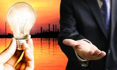 Stock Photo of energy businessconcept