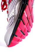 Stock Photo of sports shoes isolated