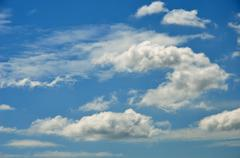 Stock Photo of nice cloud in blue sky