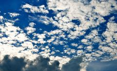 Stock Photo of nice cloud in blue sky