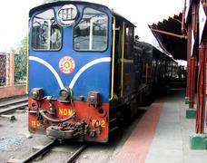 Toy train darjeeling Stock Photos