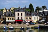 Stock Photo of Port of Auray in France