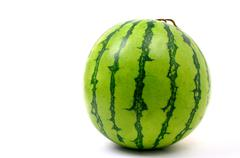Stock Photo of watermelon isolated on white background