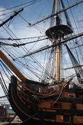 HMS Victory - stock photo