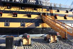 HMS Victory - stock photo