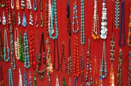 Stock Photo of necklace retail market