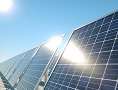 Solar energy Stock Illustration
