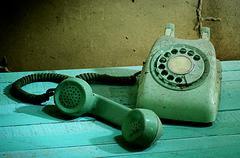 Stock Photo of Retro telephone, Still life
