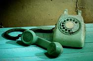 Stock Photo of Retro telephone, Still life