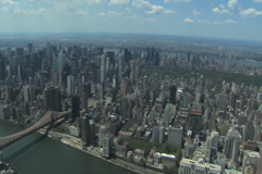 New York Ariels Stock Footage