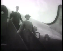 1945 - Potsdam Conference - Harry S. Truman - Arriving Berlin 01 Stock Footage