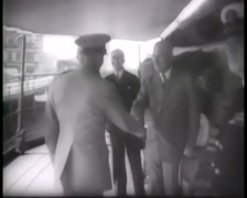 1945 - Potsdam Conference - Harry S. Truman - Travels To Berlin 02 Stock Footage