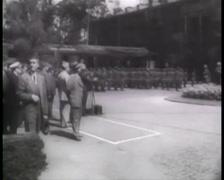 1945 - Potsdam Conference - Truman Speech In Berlin Part 2 Stock Footage