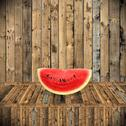 Stock Illustration of 2Eat watermelon in summer time, Vintage style 013-12-12-Watermelon-01