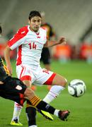 Tunisian player Mejdi Traoui Stock Photos