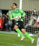 Tunisian goalkeeper Aymen Mathlouthi Stock Photos